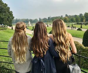 beautiful, hair, and best friends image