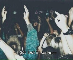 grunge, party, and sad image