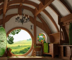 decoration, hobbit, and house image