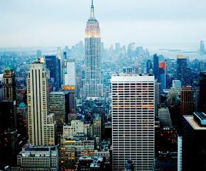 city, destination, and new york image