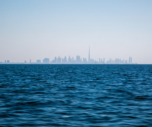 blue, city, and water image