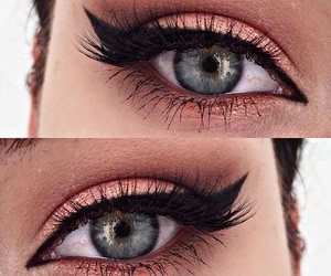 make up and eye image