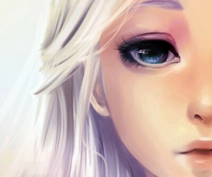 beauty, dragon, and eyes image