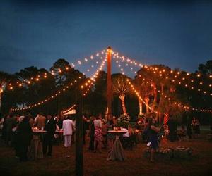 cozy, lights, and wedding image