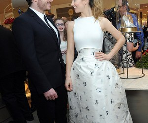 couple, richard madden, and lily james image