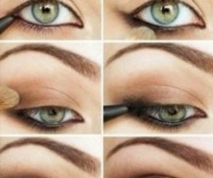 eye, eyebrows, and eyes image