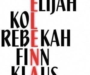 elena, finn, and the vampire diaries image
