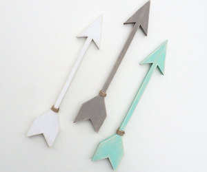 arrow, black, and etsy image