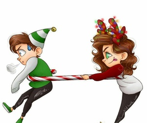 larry and christmas image