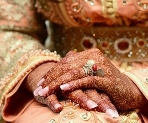 culture, traditional bride, and henna image
