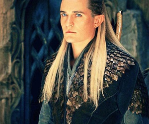 Legolas, the hobbit, and orlando bloom image