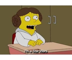 star wars and simpsons image