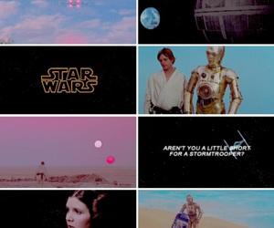 c3po, Princess Leia, and r2d2 image
