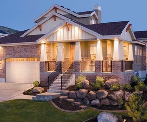 house, house exteriors, and home goals image