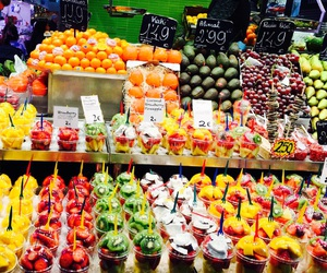 colorfull, fruit, and fruit salad image
