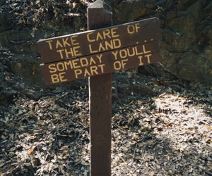 quote, land, and nature image