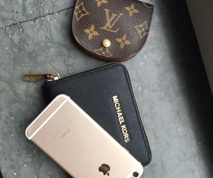 black, Louis Vuitton, and Michael Kors image