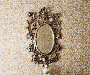 mirror, vintage, and photography image