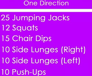 one direction, fitness, and song image