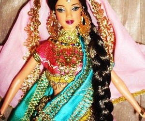 barbie, dolls, and hindou image