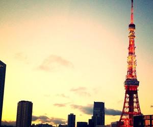 japan, sky, and tokyo image