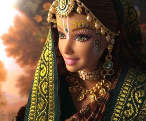 barbie, doll, and hindou image