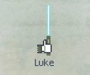 LUke, like, and star wars image