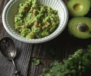 avocado, healthy, and vegetarian image