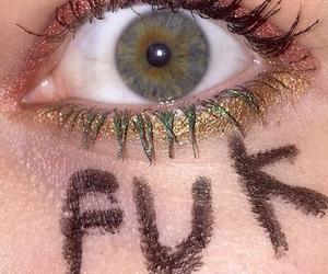 dark, eye, and eyes image