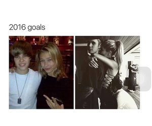 goals, hailey, and justin image