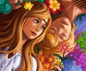 peter pan, wendy darling, and never land image