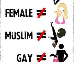 stereotypes, gay, and muslim image
