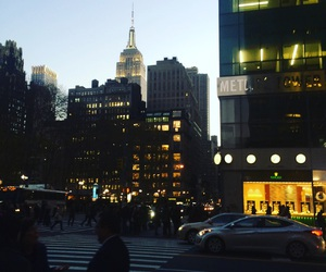 empire state building, new york, and 5 ave image