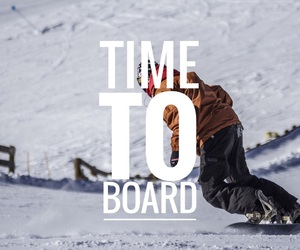 board, snow, and snowboard image