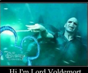 harry potter, disney, and voldemort image