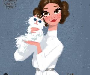 star wars and Princess Leia image