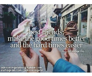 best friends, frases, and friends image