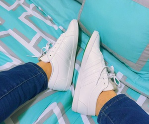 adidas, beauty, and jeans image