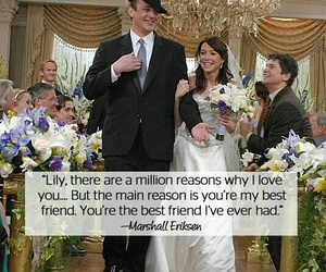how i met your mother, love, and himym image