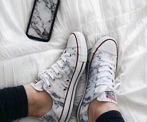 shoes, converse, and iphone image