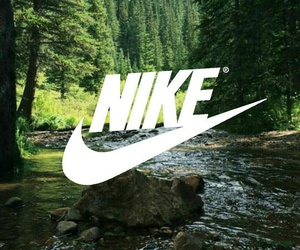 forest, green, and nike image