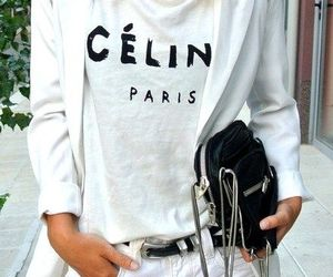 fashion, celine, and white image