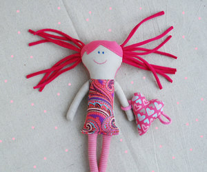 dolls, etsy, and valentines day image