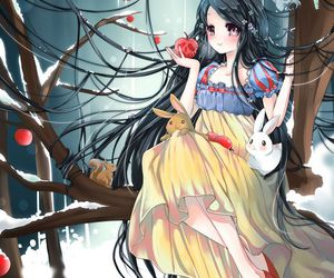 snow white, anime, and disney image