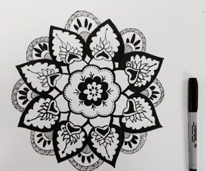 art, drawings, and Sharpie image