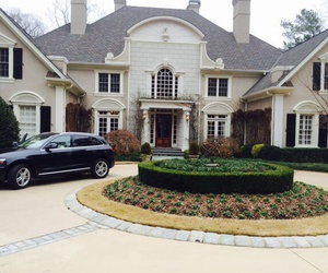 house, car, and luxury image