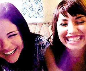 demi lovato and selena gomez image