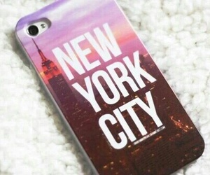 new york, iphone, and case image