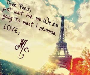 I Love You, paris, and quotes image
