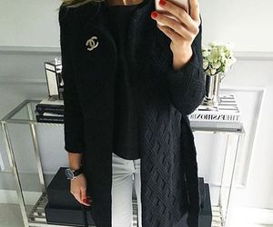 chanel and outfit image